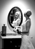 surrey wedding photographer - wedding mercure box hill burford bridge- beautiful bride