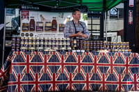 Surrey event photographer  / caterham food festival / Condiments display  / Courmet British