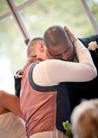 Surrey wedding photographer- selsdon park hotel- best man and groom hugging