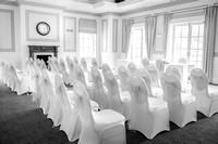 Surrey Wedding Photography - Woldingham Golf Club- amazing ceremony room