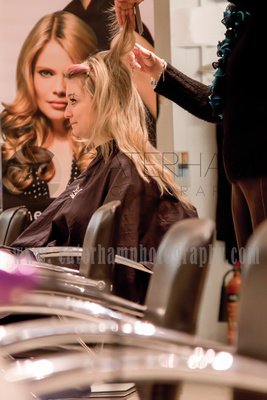 commercial  photography surrey / Hairdressers service