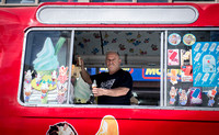 Surrey photographer - food photography / Ice cream van - making ice-creams