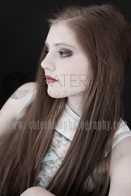 make-up Photographer-  Surrey photographer - great make-up portrait
