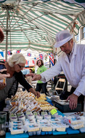 Surrey Event Photographer caterham food festival / One of the food displays