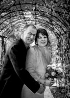 Surrey wedding photographer- leatherhead register office-gorgeous groom and bride