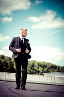 surrey wedding photographer- Fashion Wedding Photography- groom