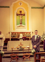 surrey wedding phtotgrapher-holy Cross Church in Carshalton- in church