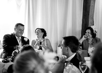 Surrey wedding photographers / Wedding in Caterham / Guests in the reception / Good time at weddings