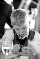 Surrey wedding photographers / Wedding in Caterham / Little boy on the wedding/ Kids at weddings/ Black and white wedding photography