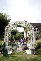 Surrey Party Photography-  park- arch
