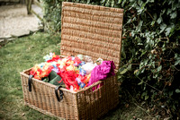 Surrey party photographer- party in the park- beautiful basket