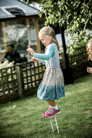 Surrey party photographer- themed party- young girl playing-