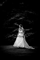 East Grinstead wedding photographers / yew lodge weddings / Brides fun photographs - Black and white wedding photography