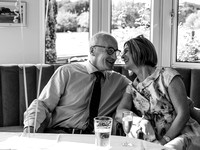 surrey wedding photographer- leatherhead registry office- mother and father of the bride