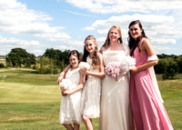 Surrey wedding photographer - reigate hill golf- bridesmaids