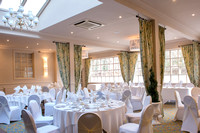surrey wedding photography / reigate manor hotel wedding / The wedding reception / beautiful wedding decorations
