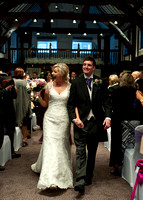 Wedding Ceremony at Mercure Box Hill Burford Bridge Hotel in Dorking Surrey