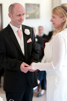 Surrey wedding photographer - reigate hill golf club - the wedding ceremony