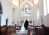 Surrey Wedding Photography, All Saints Kenley Wedding, Bride and Groom