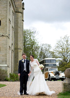 Surrey Wedding Photography- Chiddingstone Castle-  Bride and groom together
