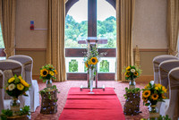 Surrey Wedding Photographer, Hilton Cobham Weddings, Ceremony room