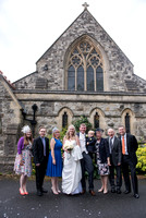 Surrey Wedding Photography, All Saints Kenley Wedding, Family Picture