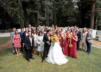 Surrey Wedding Photography, Hilton Cobham Weddings, Group Family picture