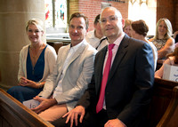 Surrey Wedding Photography, All Saints Kenley Wedding, Family Support