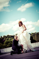 surrey wedding photographer- Fashion Wedding Photography