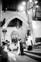 Surrey wedding photographer- St Pauls Church, East Molesey wedding - The church