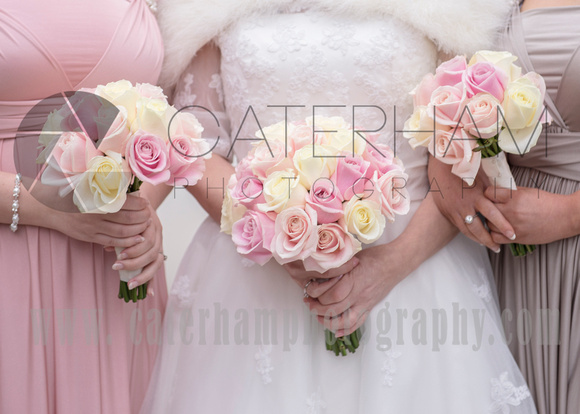 The bridal bouquets by Surrey Wedding Photo