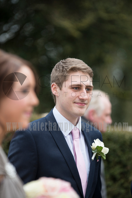 A face in the crowd Surrey Wedding Photographer - beautiful wedding photos