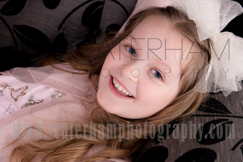 Surrey portrait photographer- little girl