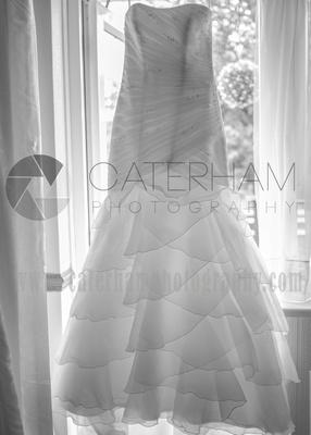 Surrey wedding Photographer- Farleigh Golf Course- stunning Wedding dress