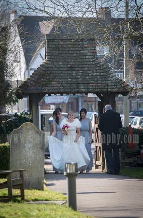 St Johns Church Coulsdon Wedding (1)