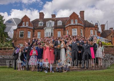 Tyrrells Wood Golf Club Wedding