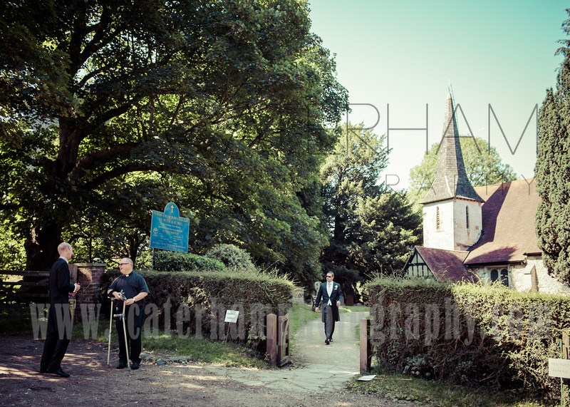 Caterham photography surrey wedding photographer st for Chaldon church mural