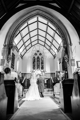 St Mary's Church Ide Hill wedding