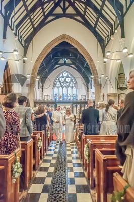 st mary's church ewell wedding