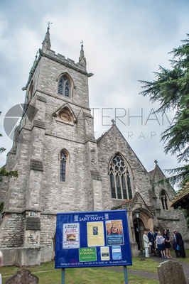 St Mary's Church Wedding in Ewell Surrey