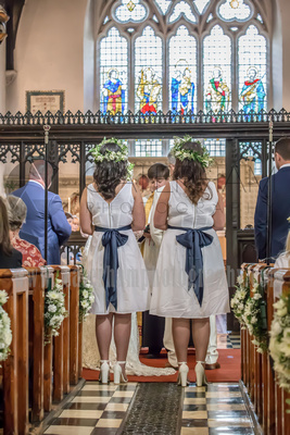 Wedding at St Mary's Church in Ewell Surrey
