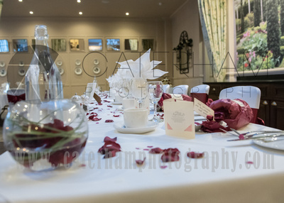 Surrey Wedding Photographer-  Reigate manor hotel- wedding top table