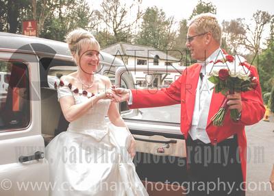 Surrey wedding Photographer- The High Rocks wedding at Tunbridge Wells Kent- bride with classic wedding car