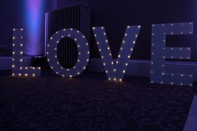 Surrey Wedding Photographer- Nutfield Priory- love typography