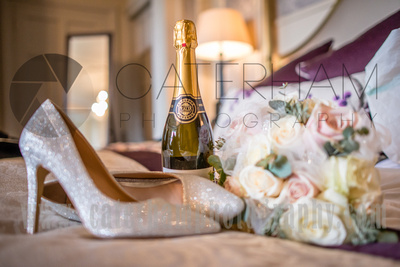 Surrey wedding photographers- Woodland Park Hotel surrey- Bride's Bouquet