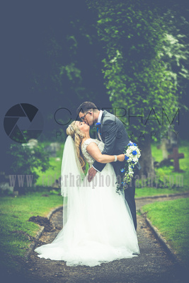 Surrey Wedding Photographer- St Nicholas Church Godstone- Breath-taking Bride and Groom together