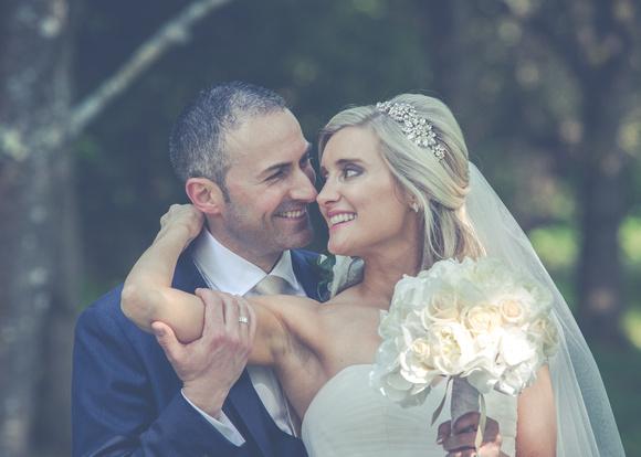 Surrey Wedding Photographer- Nutfield Priory- Stunning Bride and Groom