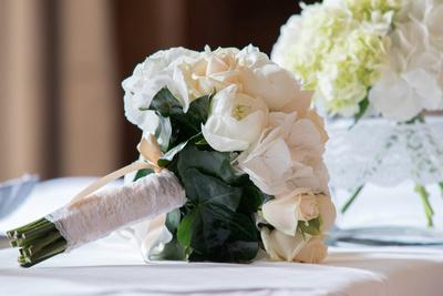 Surrey Wedding Photographer- Nutfield Priory-  Bridal Bouquet