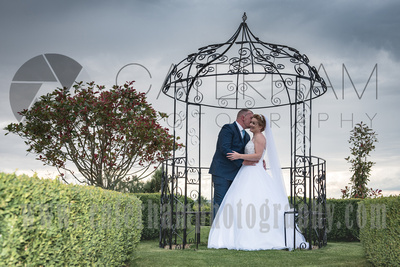 Cain Manor Weddings, Surrey Wedding Photography, Wedding at Cain Manor, Bride Groom walking