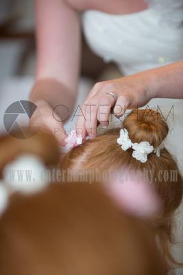 Surrey wedding Photographer- Farleigh Golf Course- stunning Wedding hairstyle